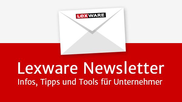 Lexware Newsletter